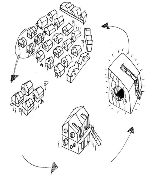 kleines holzhaus tengbom architekts studentenwohnheim architektur der zukunft
