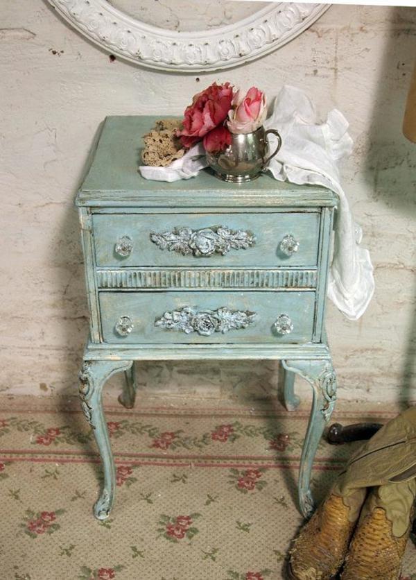 shabby shic m bel mit vintage look beispiele und diy ideen. Black Bedroom Furniture Sets. Home Design Ideas
