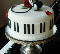 40 schmackhafte Musik Torten für richtige Musikliebhaber