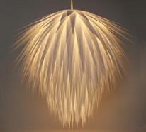Lampenschirm selber machen – Bastelideen aus Alltagsgegenständen