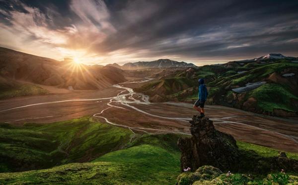 landschaft natur bilder island