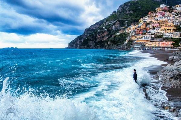 landschaft bilder italien meer