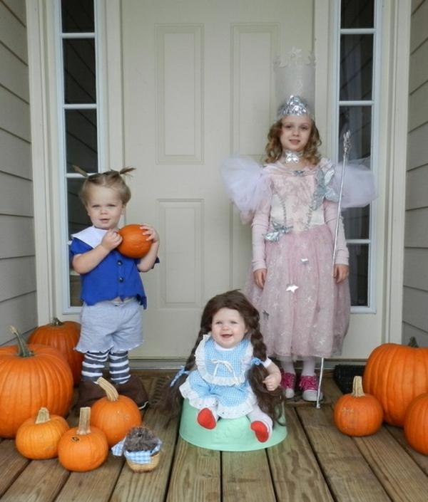halloween kostüme kinder zauberer von oz