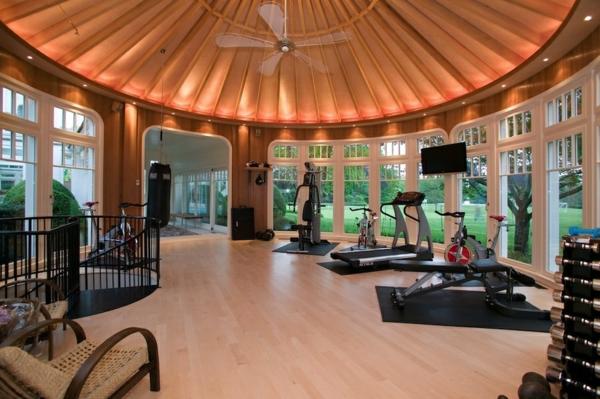 Luxus fitnessraum  Luxushaus bauen - Woran erkennt man den Luxus in der Innenarchitektur?