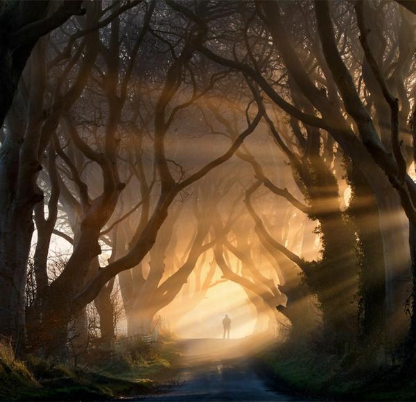 mensch landschaft irland bilder