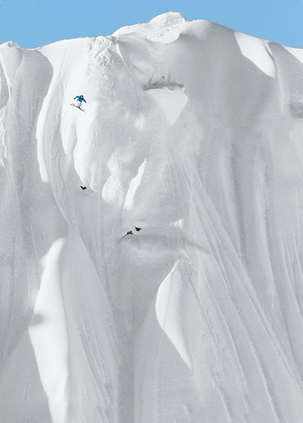 mensch und natur skifahrer bilder