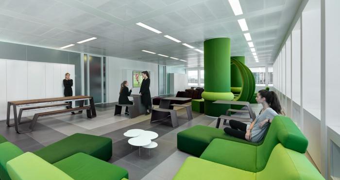 moderne architekten fabio novembre casa milan grünes ambiente