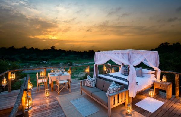 moderne architektur hotel afrika outdoor möbel