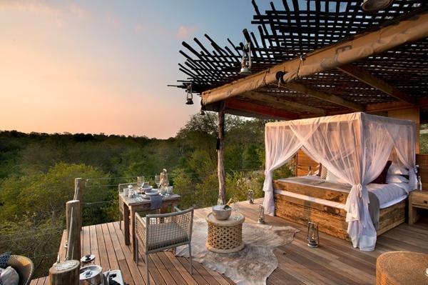 moderne architektur hotel afrika pergola