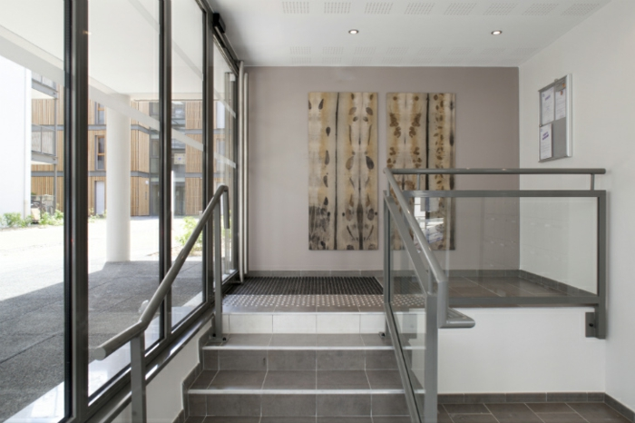 Schön Kreative Wandgestaltung. Modernes Wohnen Innendesign Ideen Green Cascade  Lyon
