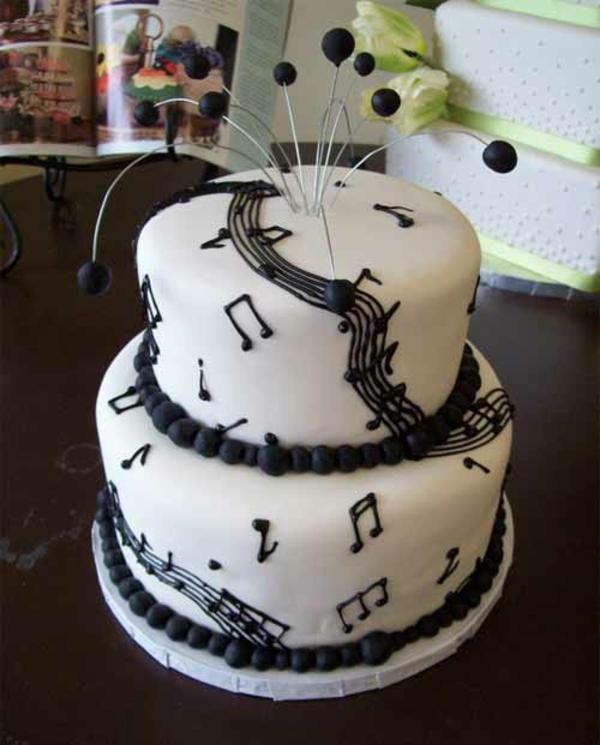 musik kuchen designs zweistöckig