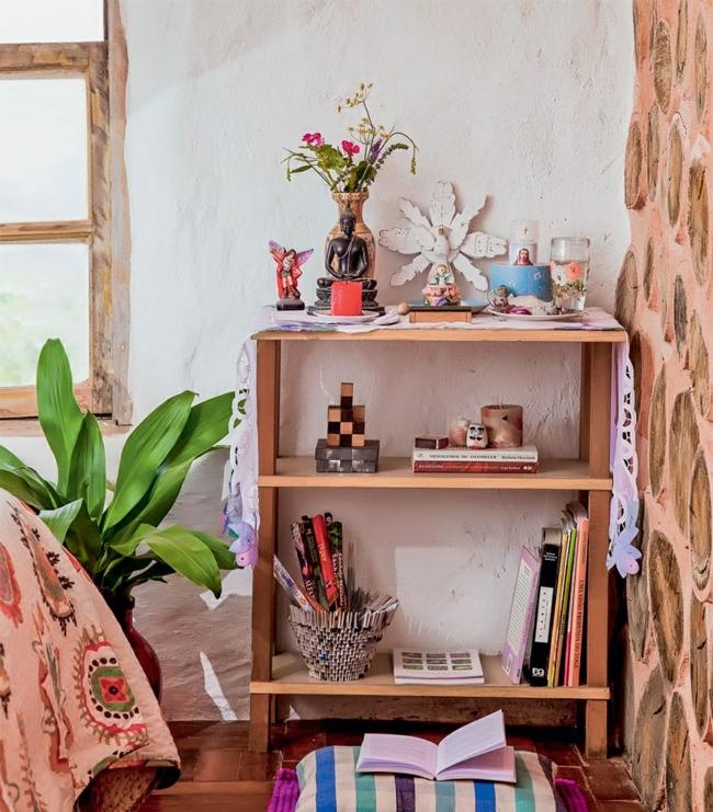 nachhaltige architektur wohnideen rustikales schlafzimmer landhausstil holz boden wandgestaltung