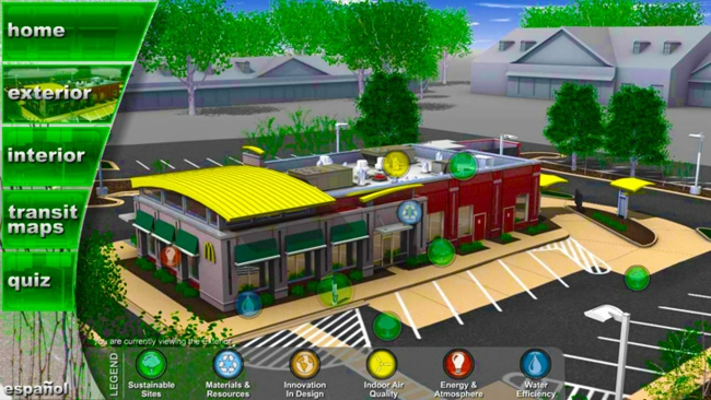 nachhaltigkeit architektur McDonalds nachhaltiges bauen grüne architektur