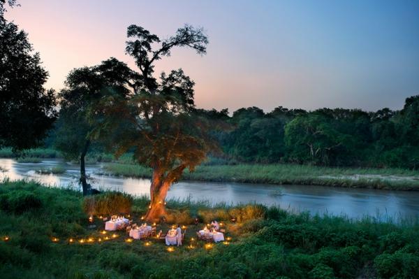 natur landschaft moderne architektur hotel afrika
