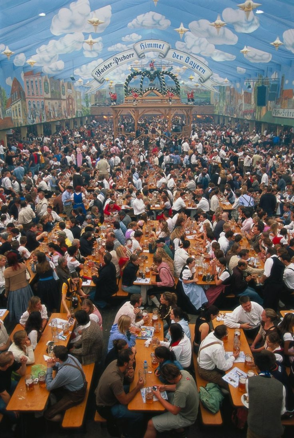 oktoberfest münchen 2014 bierfest bierzelt theresienwiese