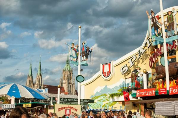 oktoberfest münchen 2014 bierfest wiesn atmosphäre