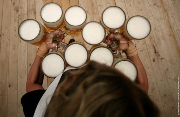 oktoberfest münchen 2014 maß bier