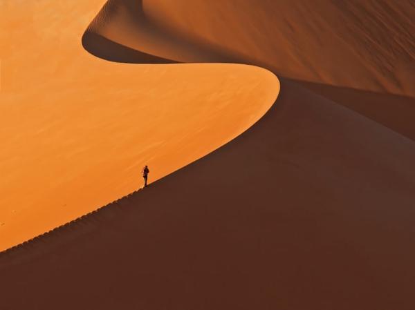 prächtige landschaft natur wüste