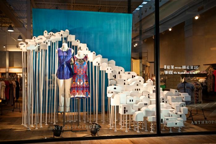 Schaufenster dekorieren vusual merchandising auf hohem for Schaufensterdekoration ideen