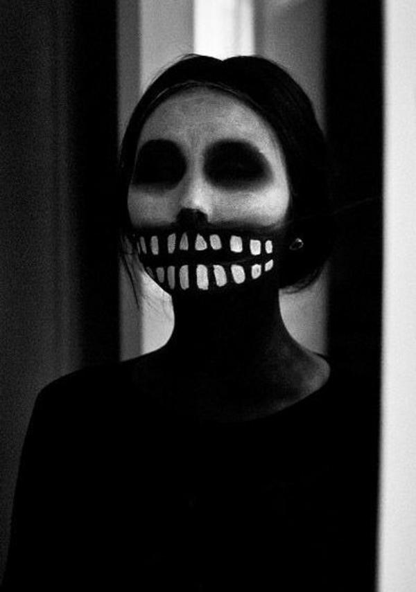 schreckliche halloween schminktipps frauen