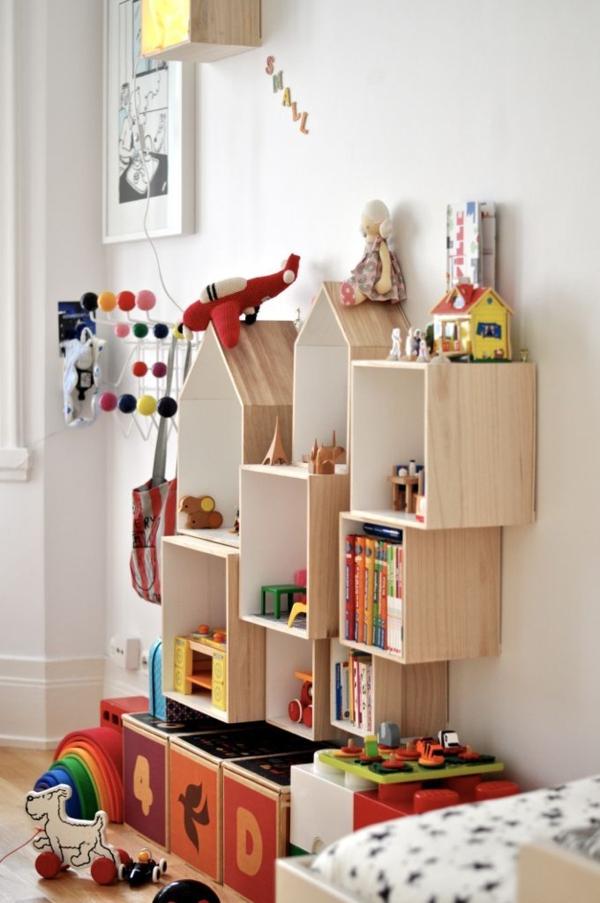 Vliestapeten Decke Tapezieren : Paul & Paula Kids Room Shelving Modular