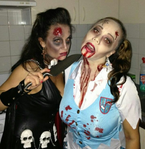 horror halloween kostüme gruselig eyecatching