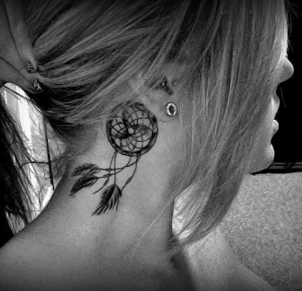 tattoos ideen tattoo hinterm ohr lüfter