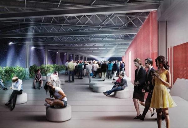 vertikaler garten USA Pavilion Milan Expo 5 designer ideen