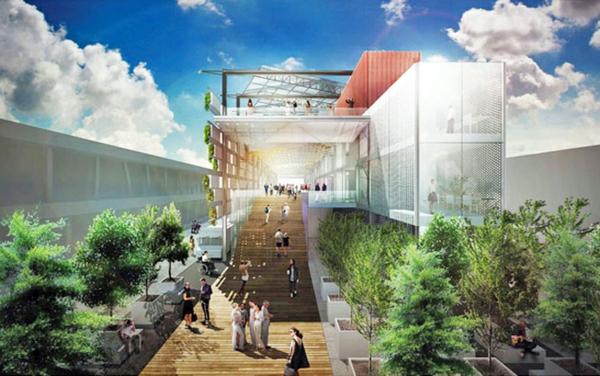 vertikaler garten USA Pavilion Milan Expo 5 nachhaltiges design