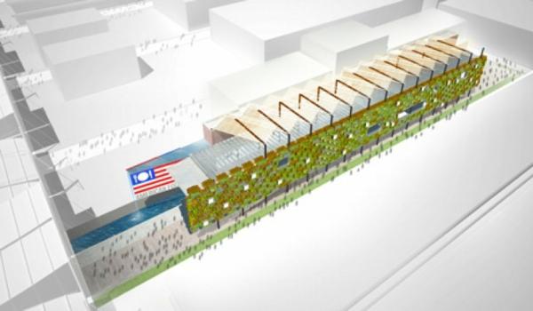 vertikaler garten USA Pavilion Milan Expo 5 projekt