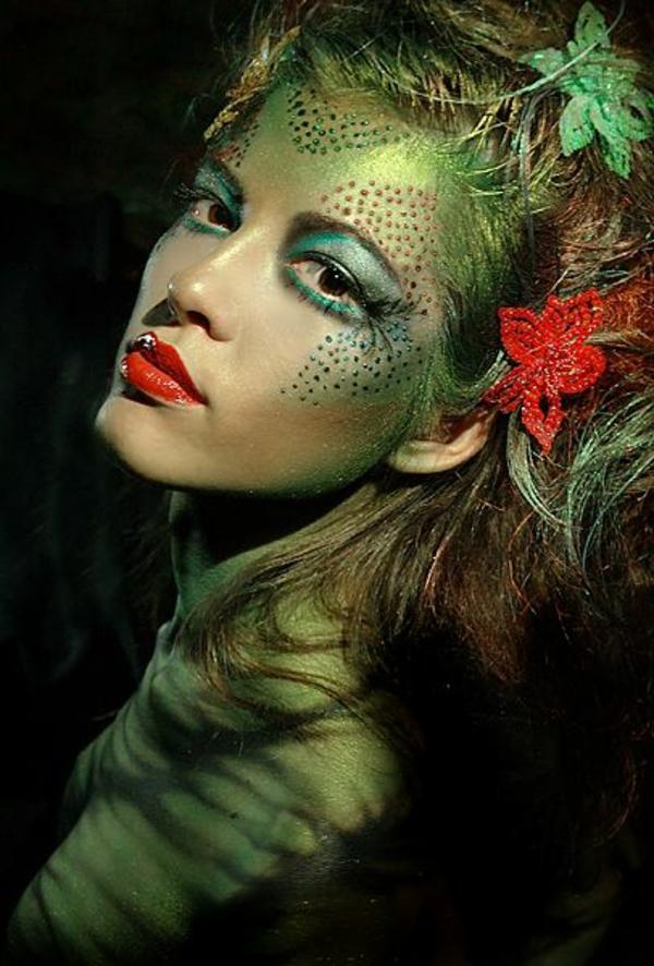 weibliche halloween schminken ideen