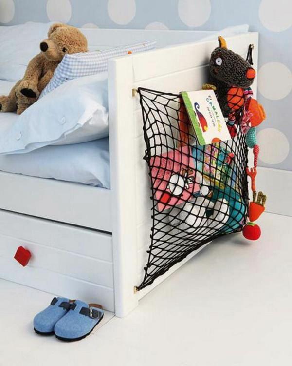 Aufbewahrung kinderzimmer   praktische designideen