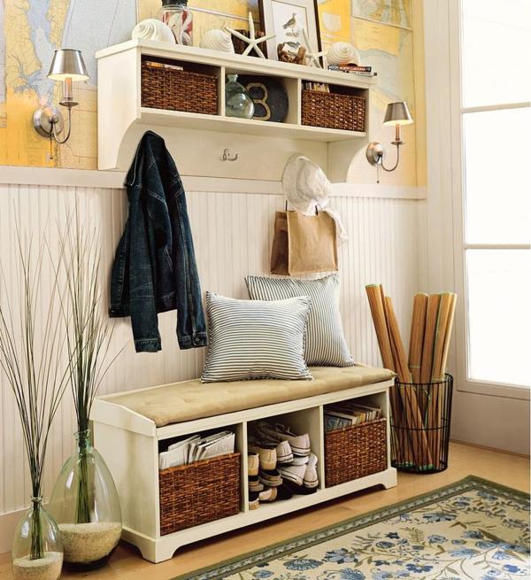 flur einrichten praktische designideen f r ihr zuhause. Black Bedroom Furniture Sets. Home Design Ideas