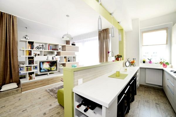 Wohnideen Wohnzimmer Und Küche kreative wohnideen in einer wohnung in rumänien