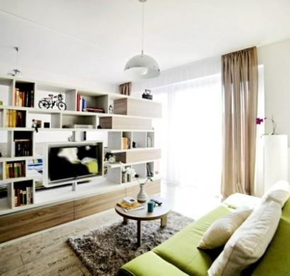 Wohnideen Wohnzimmer Tv kreative wohnideen in einer wohnung in rumänien