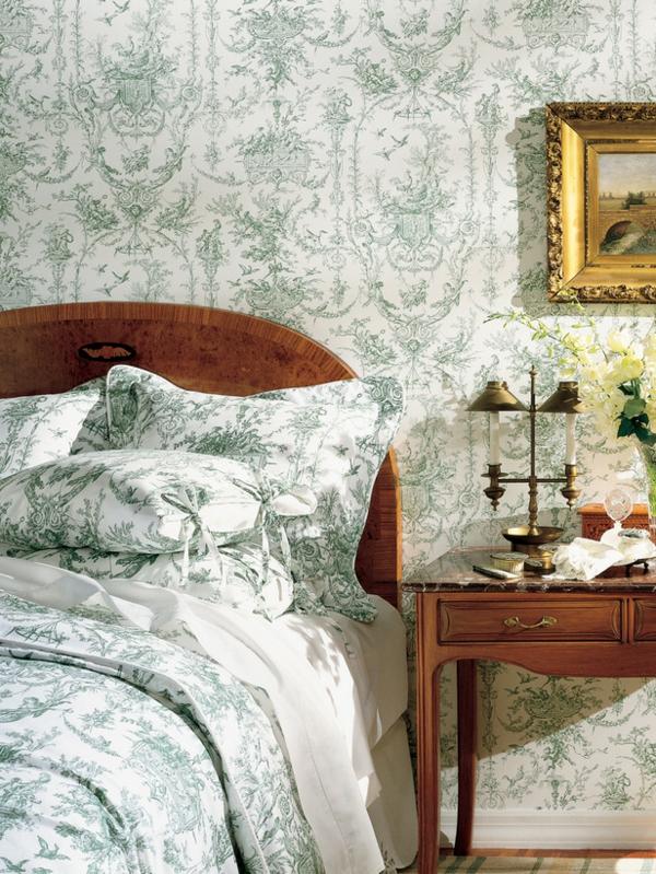wohnung design ideen französischer stil schlafzimmer gestalten