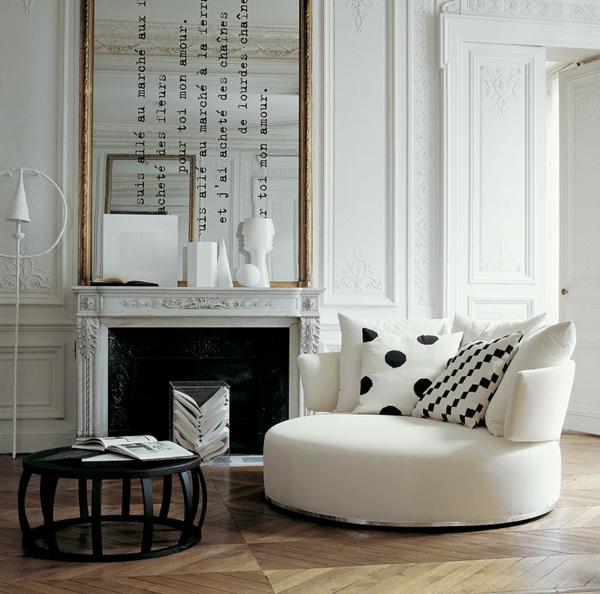 wohnung design ideen französische wohnzimmer
