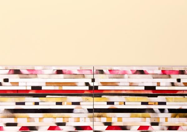 wohnzimmer einrichten buffet außerordentliche flügel