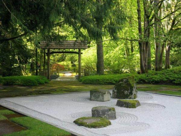zen garten anlegen - die hauptelemente des japanischen gartens, Gartengerate ideen