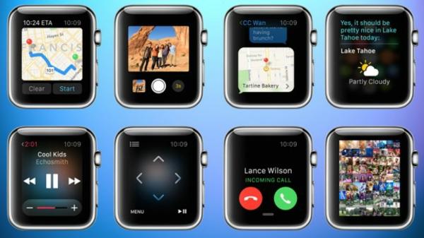 Apple Armbanduhr smartphone apps anwendungen