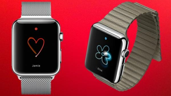 Apple Armbanduhr smartphone apps bildschirm