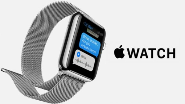 Apple watch Armbanduhr smartphone apps technologie