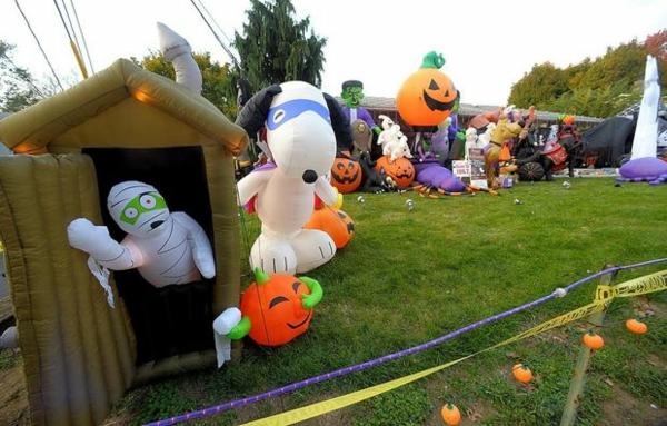gras garten Werbeartikel zu Halloween stücke