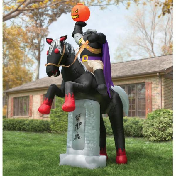 Aufblasbare Werbeartikel Halloween thematisch