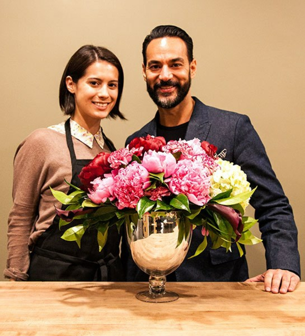 Blumengestecke und schöne Blumensträuße designer