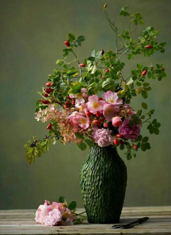 natürlich blumengestecke und schöne Blumensträuße frisch