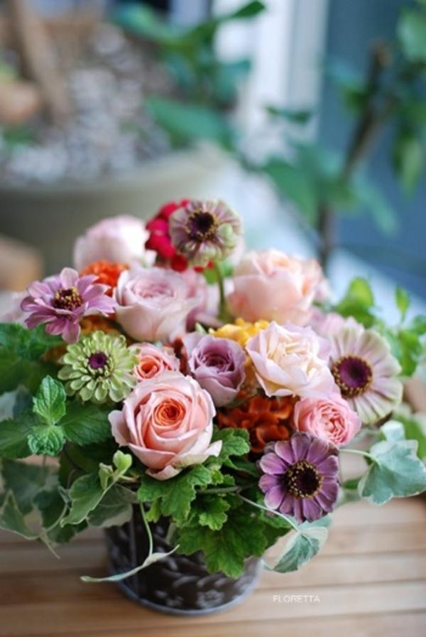 Blumengestecke und schöne Blumenstäuße garten blumen
