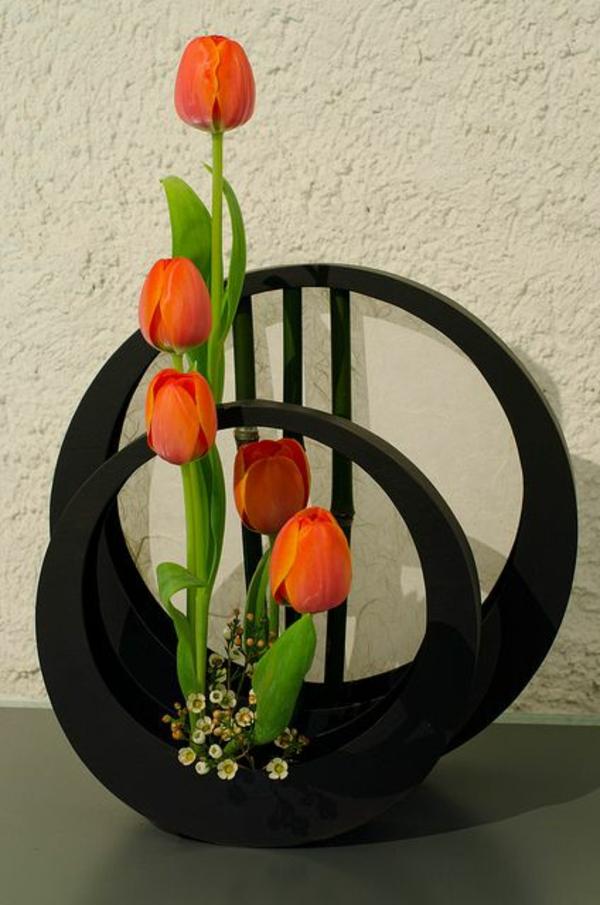 Blumengestecke und schöne Blumensträuße holz vasen