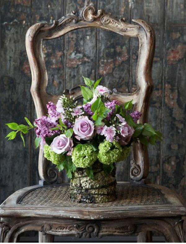Blumengestecke  rosen garten schöne Blumensträuße
