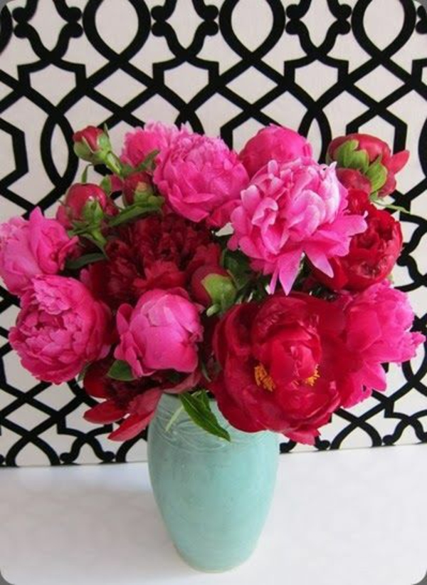 Blumengestecke schöne Blumensträuße zyklame